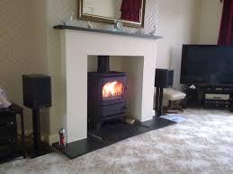 fire surround wood burning stove round designs