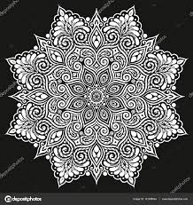 mandala vector tattoo perfect card for any kind of design