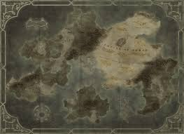 Thedas Map Kaidon Empire Map By Djekspek On Deviantart