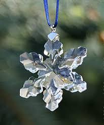 swarovski swarovski 2008 ornament snowflake