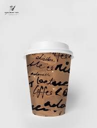 coffee tea paper cup design on behance