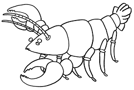 lobster coloring page az coloring pages coloring page lobster