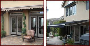 Outdoor Retractable Awnings Retractable Fabric Awnings Riverside San Bernardino Orange