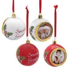 porcelain photo ornament tree