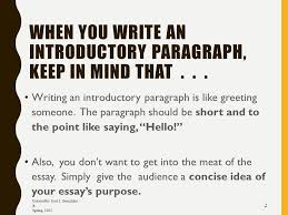 how to write a introduction paragraph for an essay how to write an introductory paragraph created by josé j gonzá