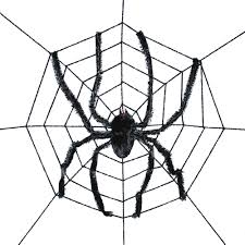 giant creepy cloth spider prop 6ft by seasons usa inc halloween