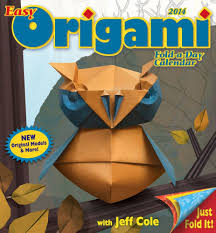easy origami fold a day 2014 calendar jeff cole 0050837309838