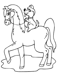 horse coloring pages image gallery free horse coloring pages