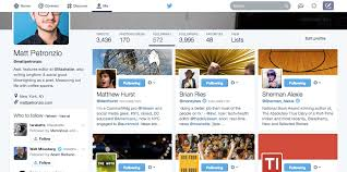 layout of twitter page twitter testing major profile redesign that looks a lot like facebook