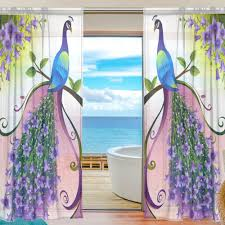 Pretty Kitchen Curtains by Peacock Kitchen Curtains Promotion Shop For Promotional Peacock
