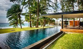 grand villa noi 5 br beach villa pool aleenta phuket resort u0026 spa