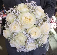 wedding flowers liverpool all white and gypsophila bridal bouquet wedding flowers