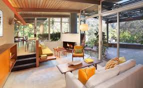 Mid Century Modern Home Post And Beam Mid Century Modern Homes Hollywood Hills Sunset