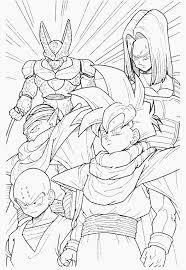 dragon ball 34 cartoons u2013 printable coloring pages