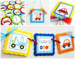 truck birthday party truck and car birthday party banner decoration for boy