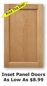 oak kitchen cabinets doors for sale unfinished shaker cabinet doors as low as 8 99