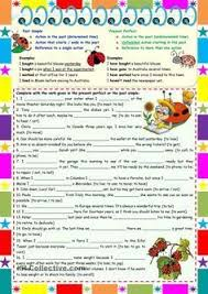 printable worksheets english tenses reported speech step by step step 1 grammar part 1 영어