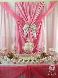 centerpieces for bautizo pink baptism party ideas baptism party dessert table and