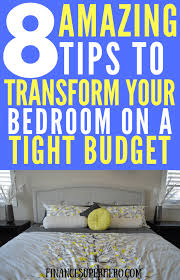 8 fantastic ways to create your dream bedroom on a budget