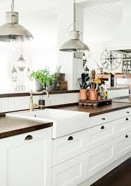 modern country kitchen with oak cabinets 15 amazing white modern farmhouse kitchens city farmhouse