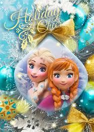 disney frozen and elsa ornament 3d lenticular
