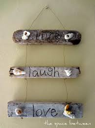 6 diy driftwood craft ideas thespacebetweenblog 11nov live laugh