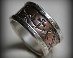 manly wedding bands metalsmith jewelry designer custom wedding by maggidesigns