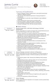 District Manager Resume Examples by Maintenance Resume Samples Visualcv Resume Samples Database