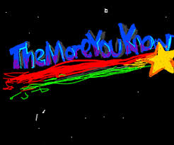 The More You Know Meme - themoreyouknow logo