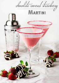 martini bacon chocolate covered strawberry martini just a little bit of bacon
