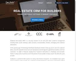 daebuild real estate crm software pricing reviews alternatives