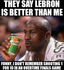 Lebron Memes - michael jordan on lebron james ot performance bulls cavs
