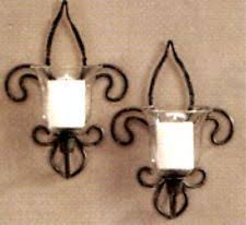 home interiors sconces pair vintage home interiors smokey mirror wall sconces w black