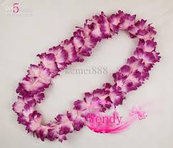 flower necklace wedding images Hawaiian flower lei garland hawaii necklace party wedding jpg