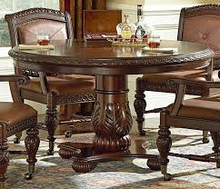 solid wood dining room sets dining room chairs with rollers rattlecanlvcom design blog regard