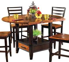 Steve Silver Abaco Drop Leaf Counter Height Table Traditional - Counter height dining table drop leaf