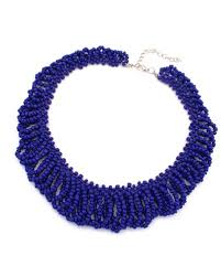 blue bead necklace images Royal blue seed bead plait collar necklace ac0020188 5 jpg