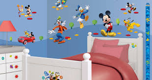 walltastic wandsticker kinderzimmer disney mickey mouse donald