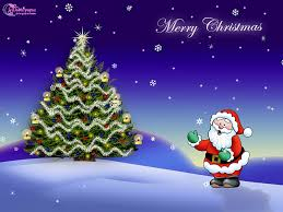 christmas wishes and greetings wallpapers with santa claus