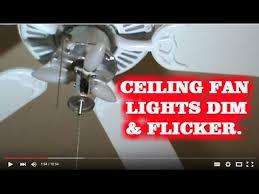 Ceiling Fan And Light Not Working How To Fix Blinking Ceiling Fan Lights Kichler Fan