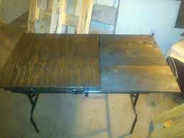 Collapsible Drafting Table Completely Foldable Drafting Table The Rusted One Design Pinterest