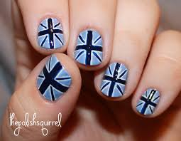 British Flag Nails Baby Union Jack The Polish Squirrel