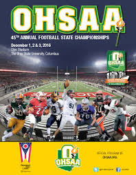 Ohio Stadium Map by Ohsaa U003e Sports U0026 Tournaments U003e Football U003e Football 2016 U003e 2016