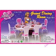 miniature furniture fancy grand dining room barbie