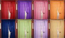 sheers curtains drapes u0026 valances ebay