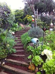 Landscaping Ideas Hillside Backyard Best 25 Hillside Garden Ideas On Pinterest Sloped Garden