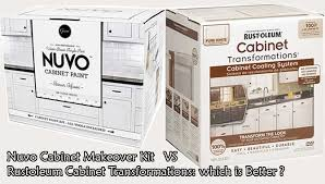 is nuvo cabinet paint nuvo cabinet paint vs rustoleum transformations kit reviews