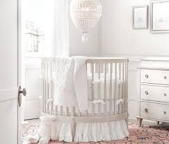 All White Crib Bedding Crib 17 Adorable Nursery Designs With Circular Crib
