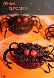 spider cupcake halloween amandine cooking