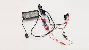 auxbeam wiring harness installation led lighting